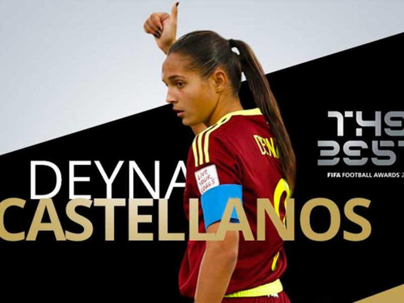 Deyna Castellanos sorprende en The Best