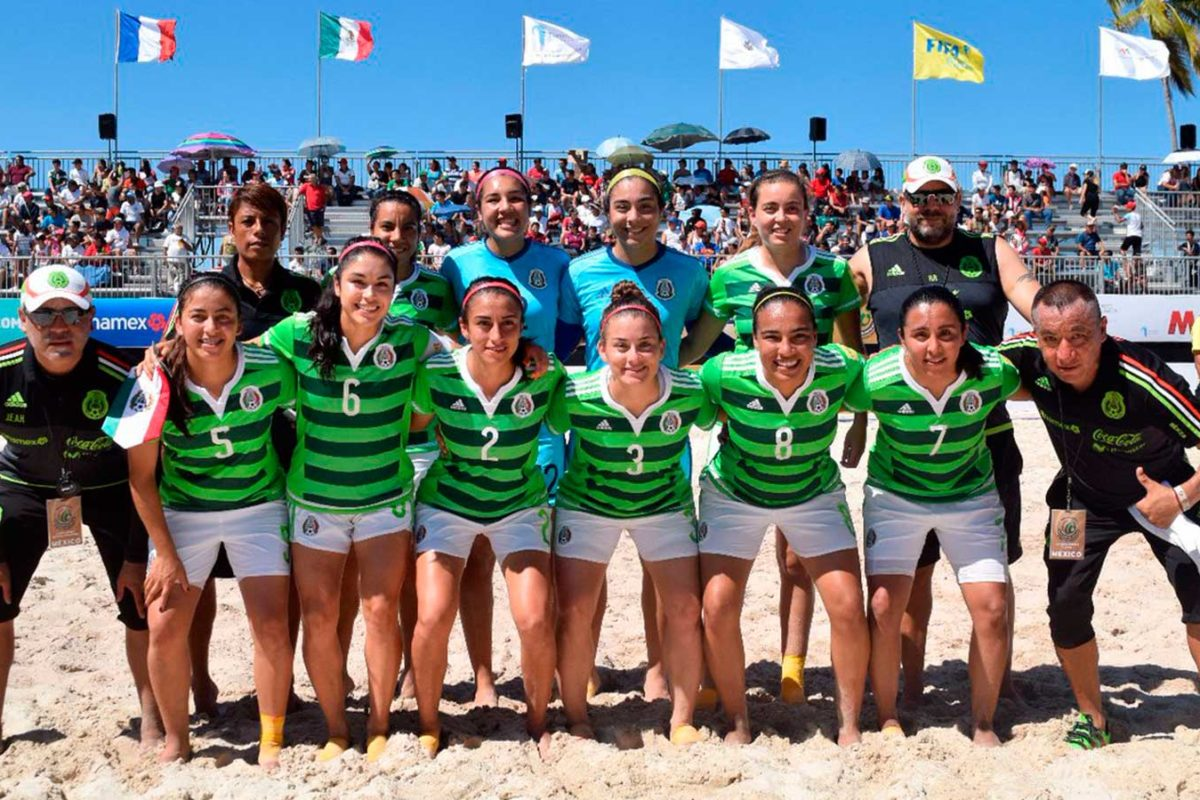 Tricolor de playa sufre en debut
